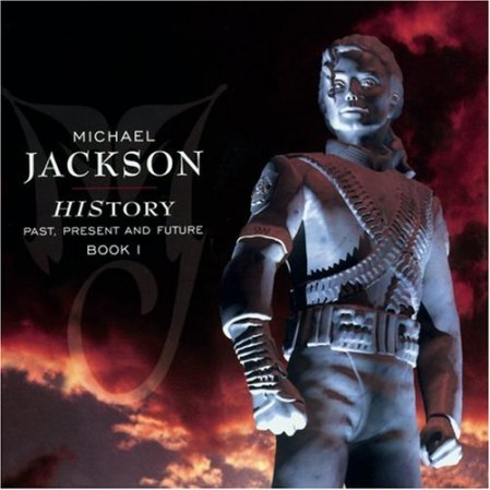 MJ HIStory Album cover